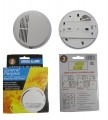 9V BTY OPERATED SMOKE DETECTOR - SS168