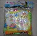 PLASTIC BUILDING BLOCK- 33pcs