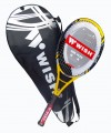 TENNIS RACKET WITH FULL COVER.  890-AIR FLEX
