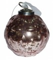 Pink Antique Glass Bauble