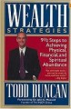 Wealth strategies by Todd Duncan