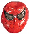 PVC Face Mask, Red Spiderman Face DSC-0928