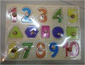 Wooden Numbers  0164
