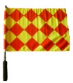Healy classic rotating flags for lines men
