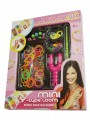 LOOM BANDS DIY BRACELETS AND BEADS ON TRAY [5349-LOOM]