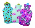 Hot water bag with cover 2L