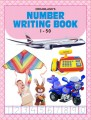 Number writing books 1 to 50
