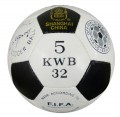Soccer ball size 5 pvc leather official  KWB-5