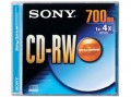 Sony CD_RW 700MB Single Slim Pack